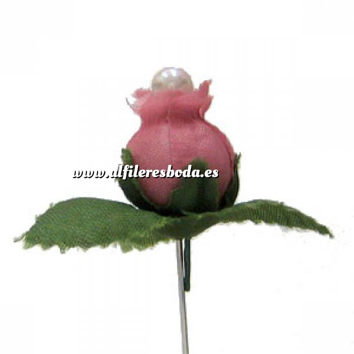 Imagen Alfileres clásicos Alfiler clásico 07 (capullo rosa)