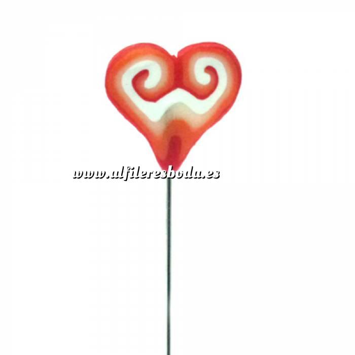 Imagen Alfileres fimo Alfiler clásico Fimo 17 (Corazón)